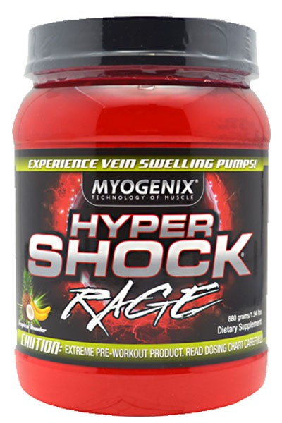 Hypershock Rage Pre-Workout