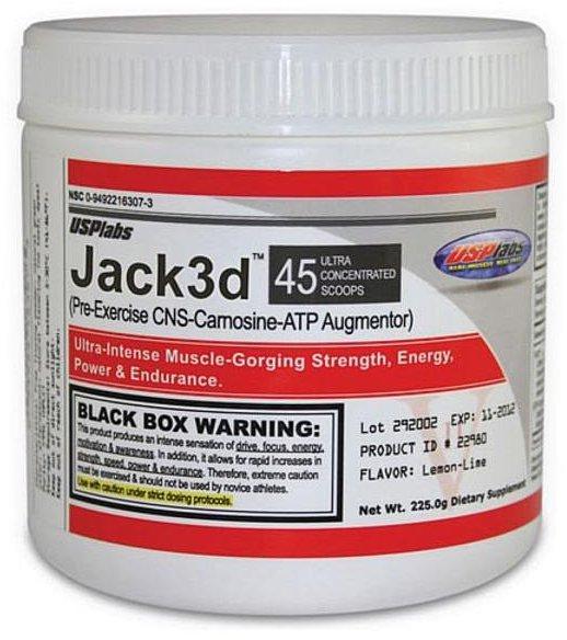 jack3d Pre-workout