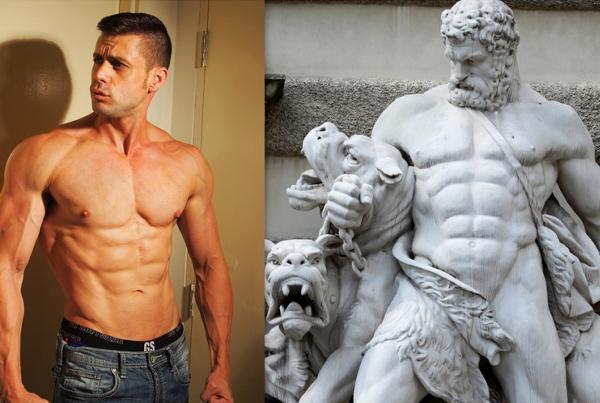 Victor pride body of a spartan