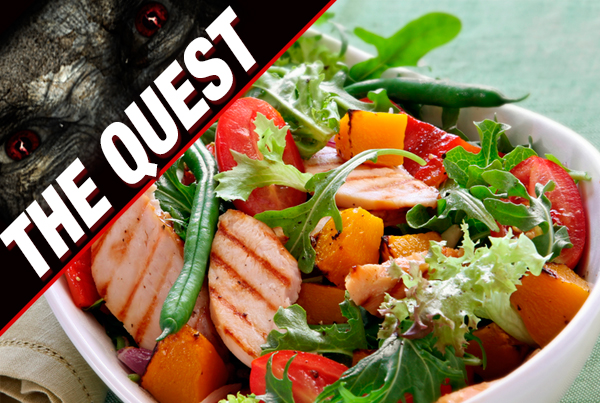 The Quest – The Groom's New Diet STAGE 1