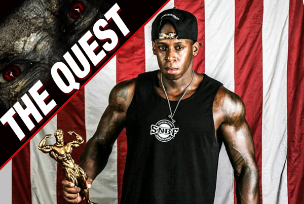 The Bodybuilder Starts His IFBB Pro Quest