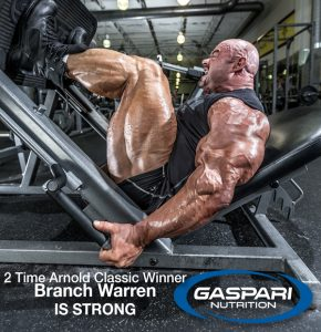 Branch Warren - Gaspari - Is Strong!