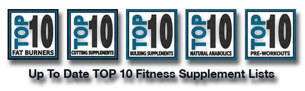 Top 10 Fitness Supplements List