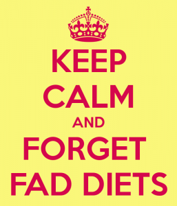 Forget your fat loss fad diets