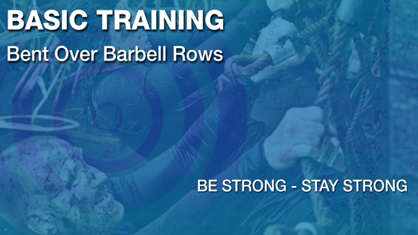 Bent Over Barbell Rows Video Exercise Guide