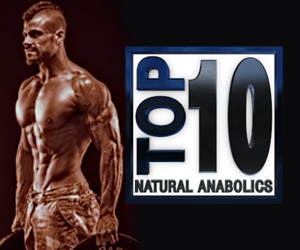 Top 10 Natural Anabolic Supplements