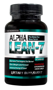 Alpha Lean-7 The Fat Burner You Experience!