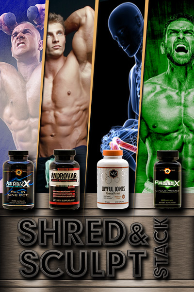 Shred & Sculpt Stack