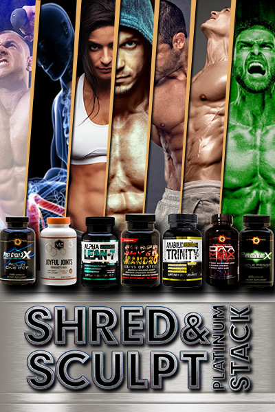 Shred & Sculpt Platinum Stack