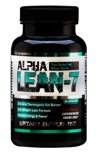 No. 1 Ranked Fat Burner Alpha Lean-7