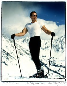 Arnold On Skis - Picturesque