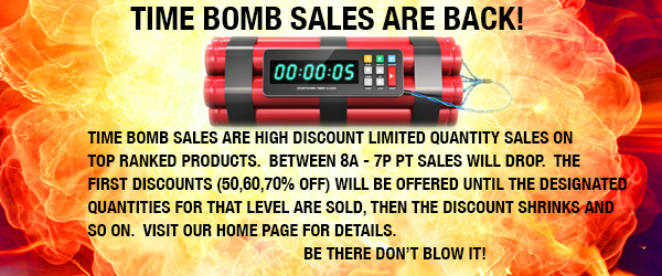 Time Bomb Sales