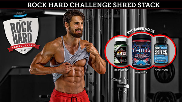 Rock Hard Challenge Shred Stack