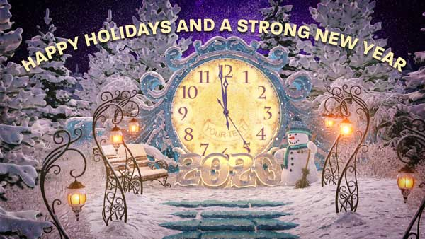 Happy Holidays From All Of Us At Strong Supplements