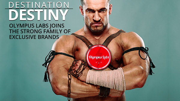 Olympus Labs Becomes The Latest Member Of Strong's Family Of Exclusive Brands