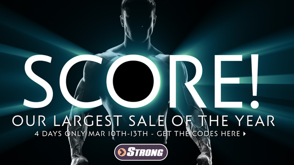 Don't Miss - SCORE! Our Biggest Sale Of The Year