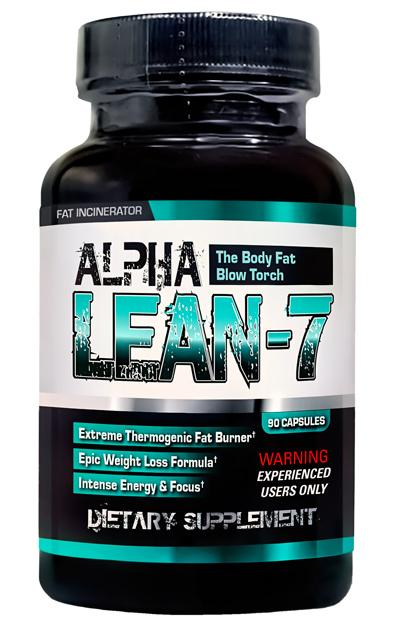 Alpha Lean-7 by Hard Rock Supplements