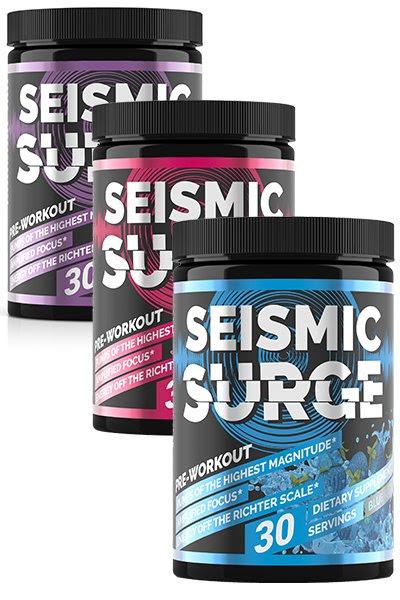 seismic surge pre workout